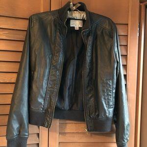Jackets & Blazers - Black Pleather